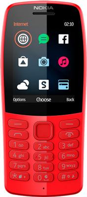 Мобильный телефон Nokia 210 DS (TA-1139) Red/красный стоимость