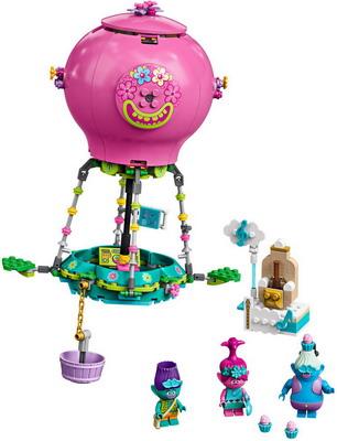 Конструктор Lego TROLLS ''Путешествие Розочки на воздушном шаре'' 41252