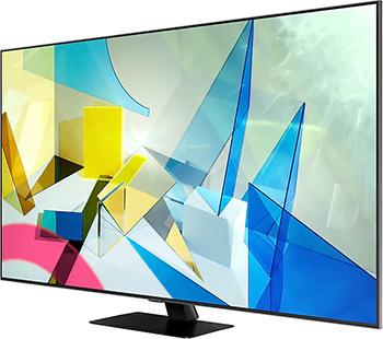 цена на QLED телевизор Samsung QE55Q80TAUXRU