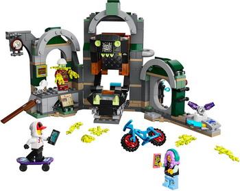 Конструктор Lego Hidden Side Метро Ньюбери 70430