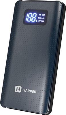 Внешний аккумулятор Harper PB-20000 grey фото