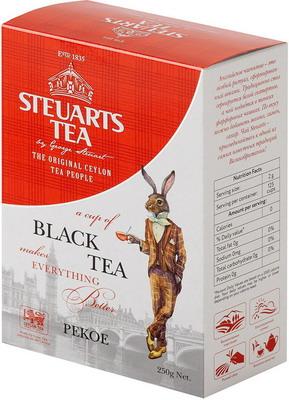 Чай черный Steuarts Black Tea PEKOE 250 гр цена 2017
