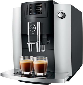 Кофемашина автоматическая Jura E6 Platinum (EB) 15376