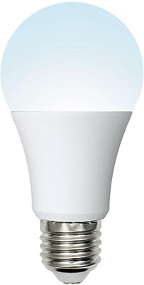 Лампа Uniel LED-A60-10W/NW/E27/FR/MB PLM11WH Форма «A» матовая (4000K) 002372