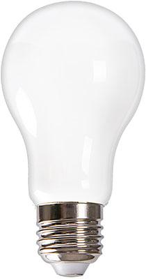Лампа Uniel LED-A60-9W/4000K/E27/FR GLH01WH Форма ''A'' матовая (4000K) 004842