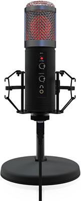 Фото - Микрофон настольный Ritmix RDM-260 USB Eloquence Black микрофон ritmix rdm 160 black