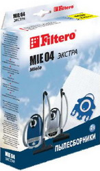 Набор пылесборников Filtero MIE 04 (3) ЭКСТРА гладильный пресс mie romeo 3 белый
