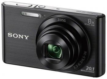 цены Цифровой фотоаппарат Sony DSC-W 830 черный