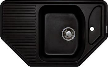 Кухонная мойка LAVA A.1 (LAVA чёрный металлик)