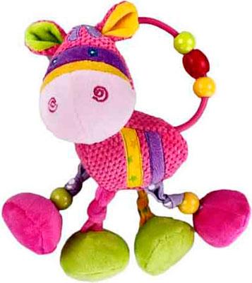 Мягкая погремушка Жирафики подвеска Коровка погремушка подвеска best toys погремушка подвеска