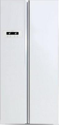 Холодильник Side by Side Ginzzu NFK-465 белый холодильник side by side ginzzu nfk 530 черный