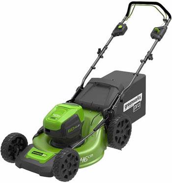 Аккумуляторная самоходная газонокосилка Greenworks 60 V GD LM 46 SP без аккумулятора и зарядного устройства 2502907