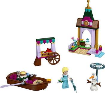 Конструктор Lego Disney Princess: Приключения Эльзы на рынке 41155