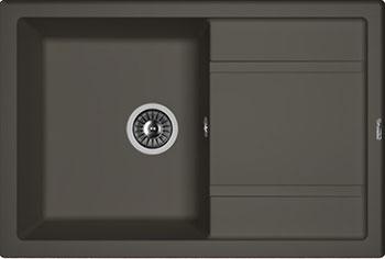 Кухонная мойка Florentina, Липси-760 760х510 антрацит FSm, Россия  - купить со скидкой