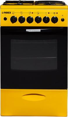 цены Комбинированная плита Reex CGE-531 ecYe желтый