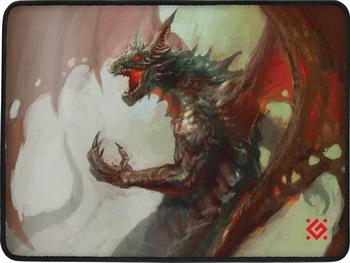Коврик для мышек Defender Dragon Rage M 50558 коврик для мышек defender cerberus xxl 50556