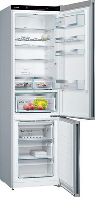 Двухкамерный холодильник Bosch KGN 39 IJ 31 R VarioStyle со съемной панелью цена и фото