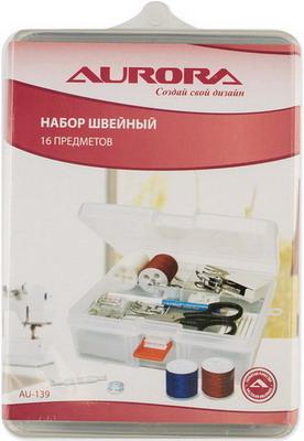 Швейный набор Aurora AU-139 линейка для пэчворка 5 x 35 см aurora au 0535