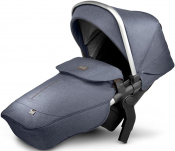 Прогулочный блок для 2-го ребенка Silver Cross WAVE MIDNIGHT SX 2073.MDSI4 коляска silver cross midnight blue sx 2125 mdeu