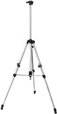 Мольберт телескопический Белоснежка 73-BS тренога метал. серебро
