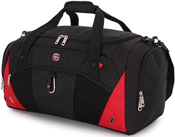 Сумка спортивная Wenger чёрный/красный полиэстер 600D 56х25 5х28 5 см 56 л 2729201213 сумка wenger 606462 черный