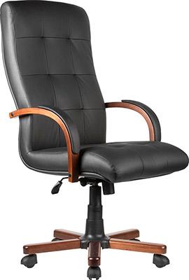 Кресло Riva Chair М 165 A Laguna Тай Чёрная кожа