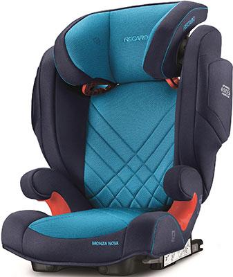 Автокресло Recaro Monza Nova 2 Seatfix гр. 2/3 расцветка Xenon Blue автокресло группа 2 3 15 36 кг recaro monza nova 2 seatfix xenon blue