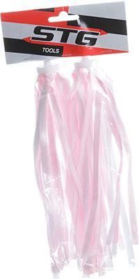 Вставки в грипсы STG FCR-S 203 7 розовый/белый