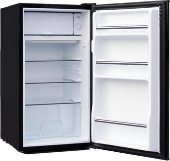 Однокамерный холодильник TESLER RC-95 black