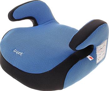 Автокресло Siger Бустер изофикс синий 22-36 кг автокресло siger бустер группа 3 gray крес0014