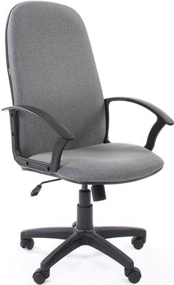 Кресло Chairman 289 серый кресло офисное персона persona доступные цвета обивки искусств чёрная кожа