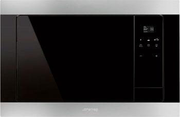 Встраиваемая микроволновая печь СВЧ Smeg FMI 320 X цена и фото