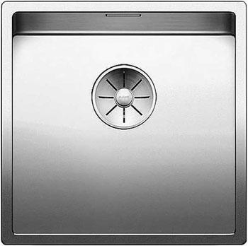 Кухонная мойка Blanco CLARON 400-U нерж. сталь зеркальная полировка 521573 кухонная мойка blanco claron 8s if а чаша справа нерж сталь зеркальная полировка 521651