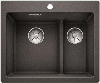 Кухонная мойка Blanco PLEON 6 Split антрацит без клапана 521689 цена