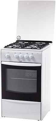 Газовая плита Terra GM 1413-005 W белый цена