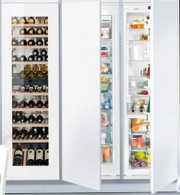 Встраиваемый холодильник Side by Liebherr SBS EWTgw 3583-20 + SIGN 3556-20 IKB 3560-20
