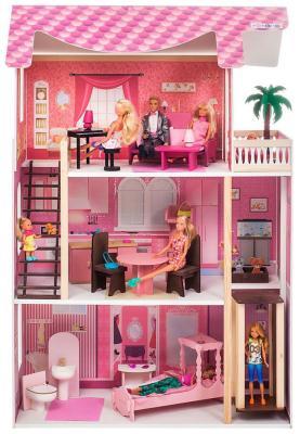Кукольный домик Paremo Монте-Роза (с мебелью) PD 318-03 цена и фото