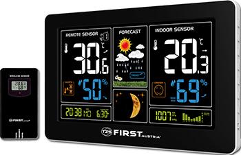 Метеостанция First FA-2461-4 Black цены