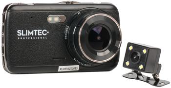 Автомобильный видеорегистратор SLIMTEC Dual S2l видеорегистратор зеркало slimtec dual m7