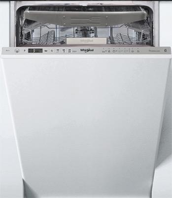 Полновстраиваемая посудомоечная машина Whirlpool WSIO 3O 23 PFE X