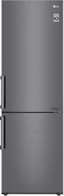 Двухкамерный холодильник LG GA-B 459 BLCL темный графит двухкамерный холодильник lg ga b 459 sqcl белый