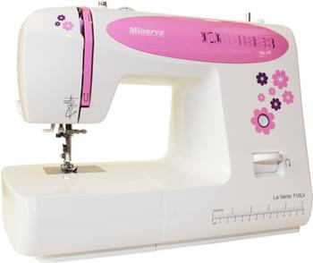 Швейная машина Minerva La Vento 710 LV швейная машина minerva la vento 710lv белый розовый