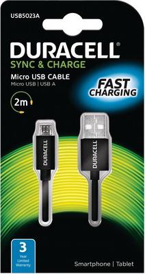 Фото - Кабель Duracell USB 5023 A-RU кабель