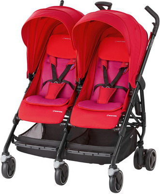 купить Коляска Maxi-Cosi Dana For2 Red Orchid 1391333110 дешево