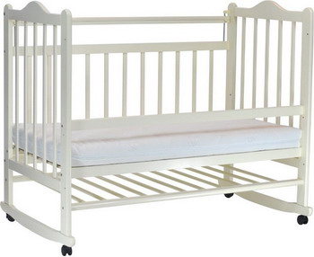 Детская кроватка Everflo Pali ivory ES-001 ПП100004143
