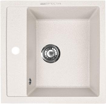 Кухонная мойка Respecta Cubo RC-51 белый камень RC51.105