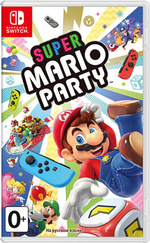 Игра для приставки Nintendo Switch: Super Mario Party (n) аксессуар для игровой приставки nintendo switch контроллер splatoon 2