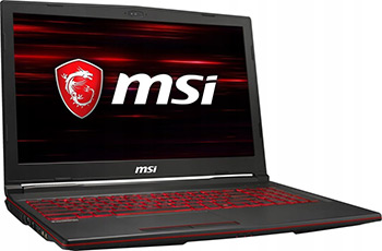 Ноутбук MSI GL63 8SC-211XRU (9S7-16P812-211) Черный игровой ноутбук msi gl63 8sc 9s7 16p812 017 черный