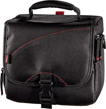 Фото - Сумка для зеркальной фотокамеры Hama Astana 140 черный сумка для фотокамеры hama odessa 90l черный серый