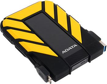 Внешний жесткий диск (HDD) A-DATA USB 3.0 1Tb AHD710P-1TU31-CYL HD710Pro DashDrive Durable 2.5'' черный/желтый внешний жесткий диск 2 5 usb3 0 1tb a data ahd710p 1tu31 cyl желтый
